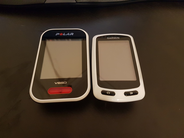 Garmin Touring Compared to the Polar V650
