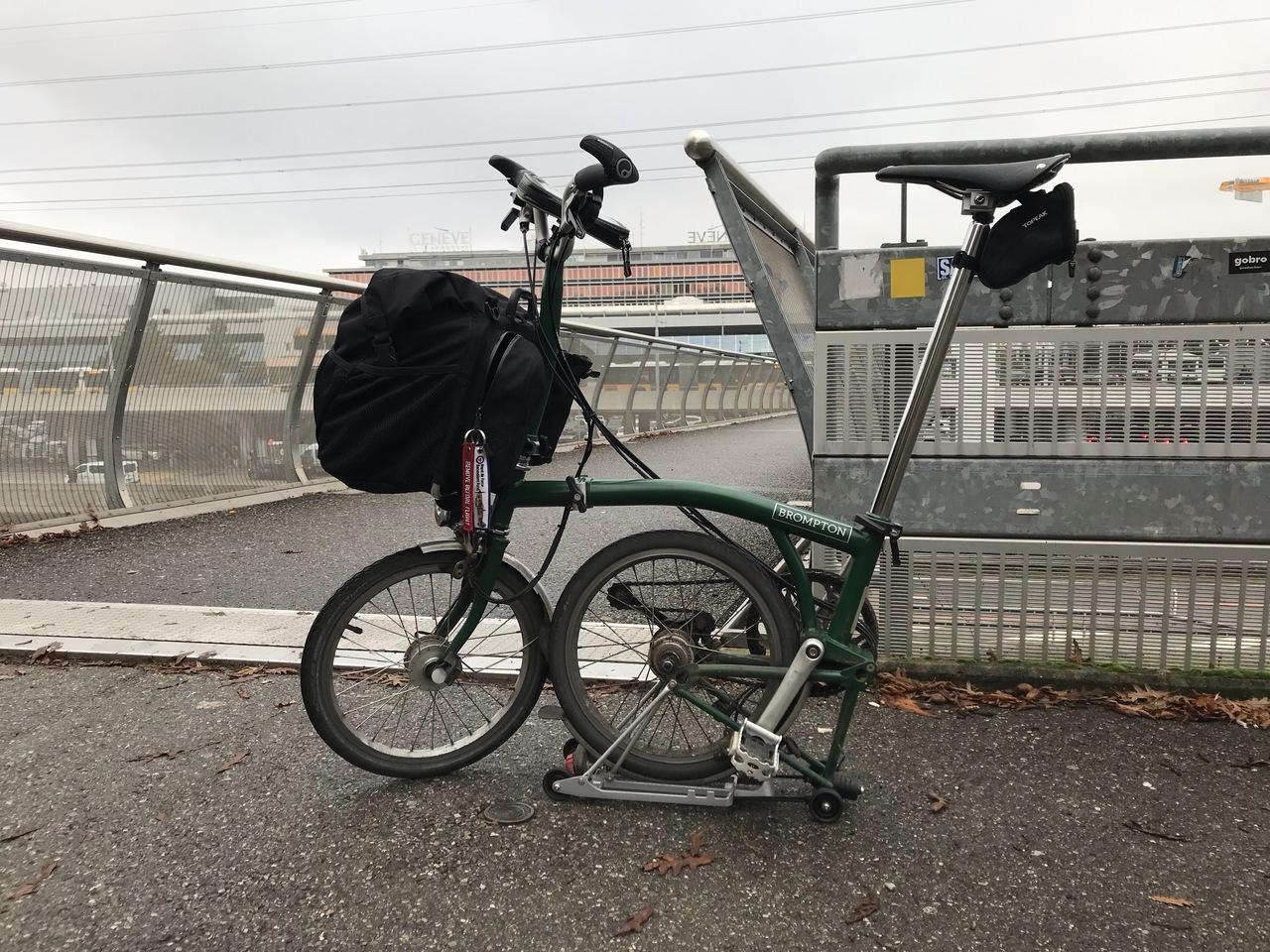 Arrival in Geneva