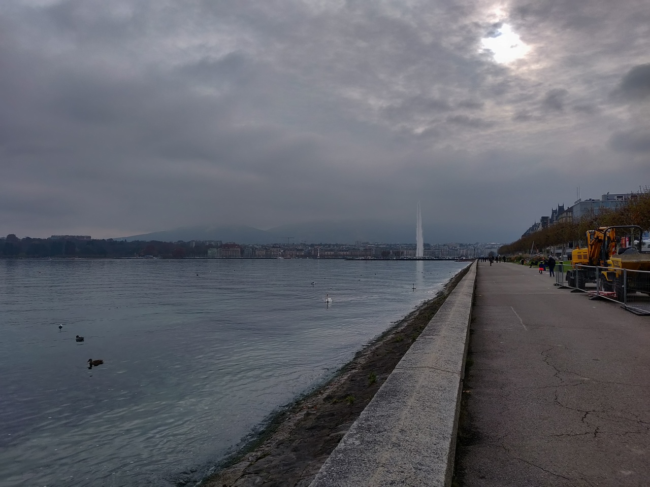 View of Lake Geneva